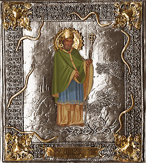 #A58 St. Patrick of Ireland<BR>(Without Crystals)