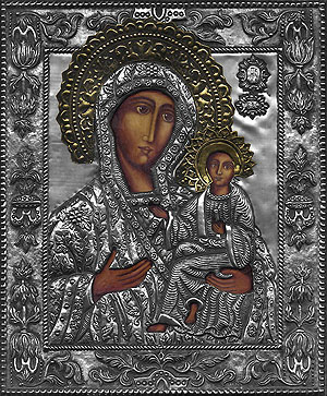 #P23 Mother of God of Tichvin